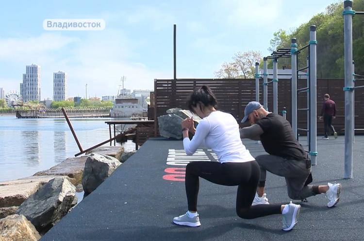 Приморские спортсмены начали тренировки на открытом воздухе