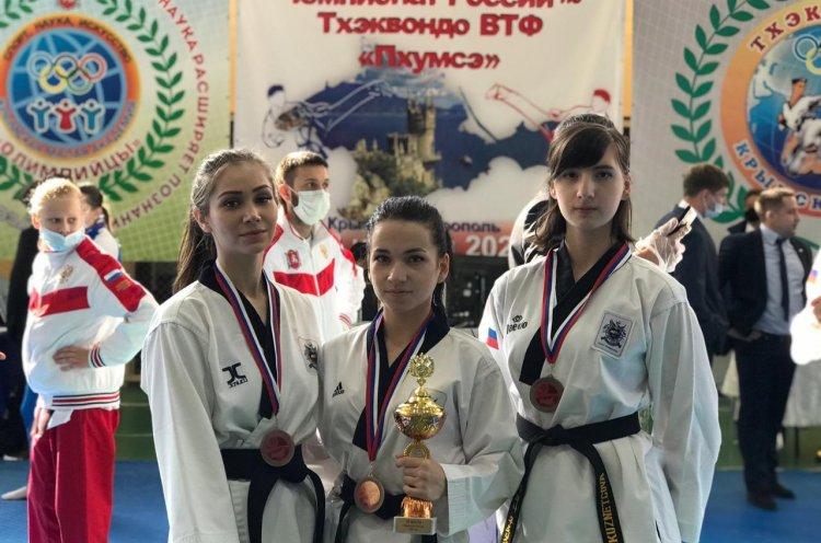 Спортсмены КСШОР завоевали медали первенства России по пхумсэ