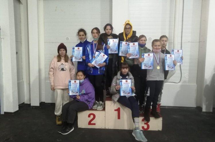 Спортсмены КСШОР отличились на краевых соревнованиях по шорт-треку
