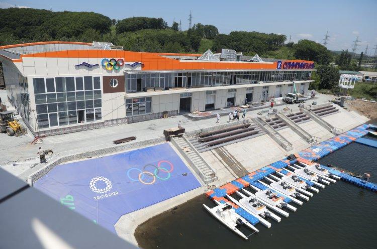 Сотрудники КСШОР подготовили гребную базу «Олимпийская» к приезду сборной России по гребле