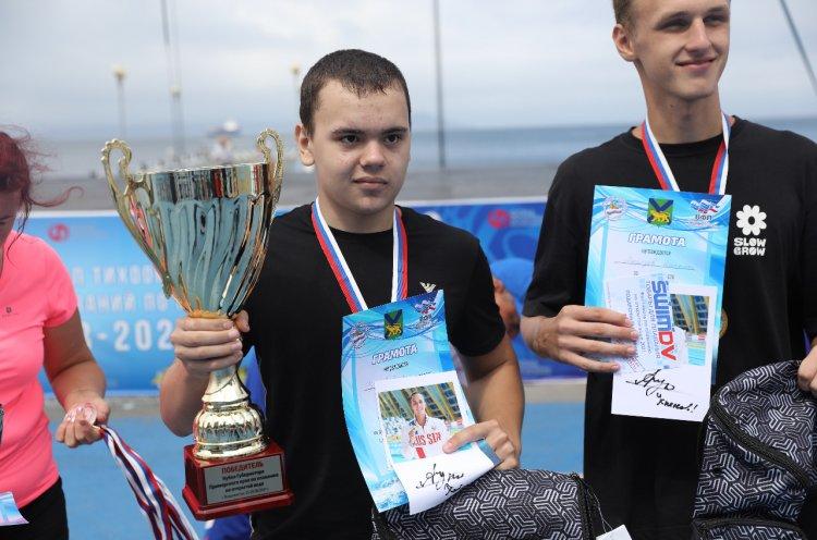 Спортсмены КСШОР завоевали Кубок Губернатора по плаванию на открытой воде