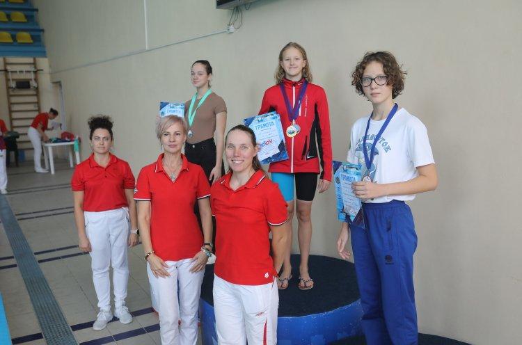 Тамара Машкина – рекордсменка чемпионата и первенства края по плаванию